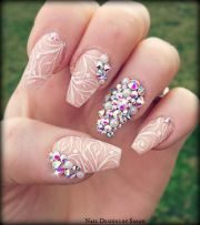 coffin shaped nails - google