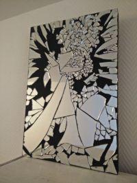 Mirror mosaic table by RENAUDBIZART on Etsy   make money ...
