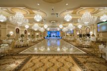 Grand Ballroom with Chandelier