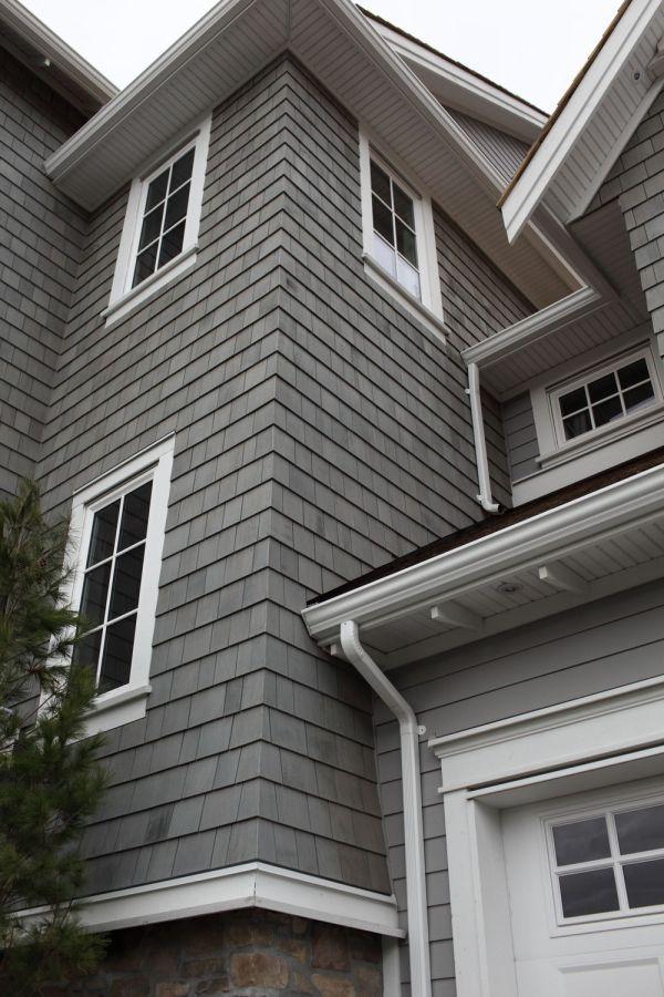 Houses with Hardie Shingle Siding