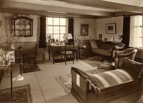 1930's Interiors Room Interior Design 1930's Veere Dijkhuis