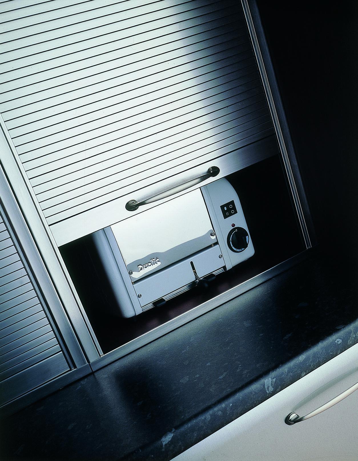 kitchen appliance garage kits high top sets tambour door | msd pinterest tambour, doors and laundry