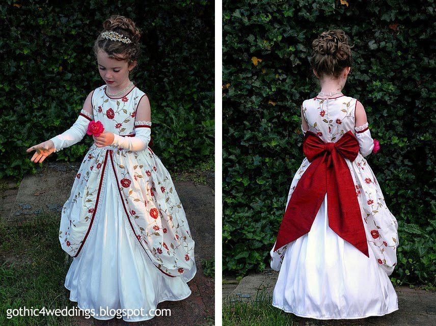 Edwardian Dresses For Little Girls