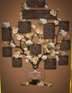 Woodland fairytale tree plan wedding seating chartswedding also charts place card and table rh za pinterest