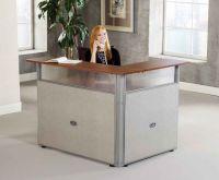 Fabulous Small Reception Desk   Home Desk Design Ideas ...