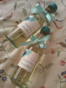 Personalized Mini Wine Bottles Barefoot