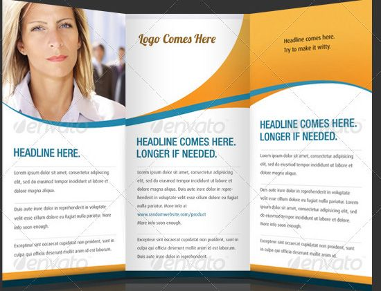 Brochure Templates Tri Fold Corporate Brochure Templates