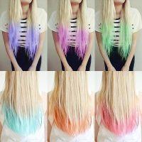Hair Color Ideas: Dip Dye HairFacebookGoogle ...