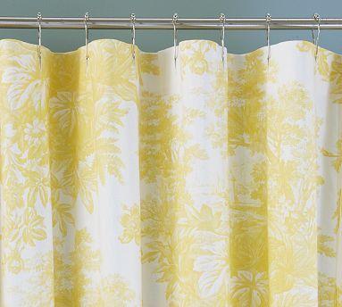 Marigold Shower Curtain Bathroom Ideas Pinterest Toile