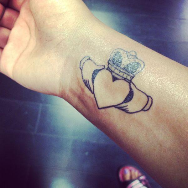 Tattoo. #claddagh Love Loyalty And Friendship