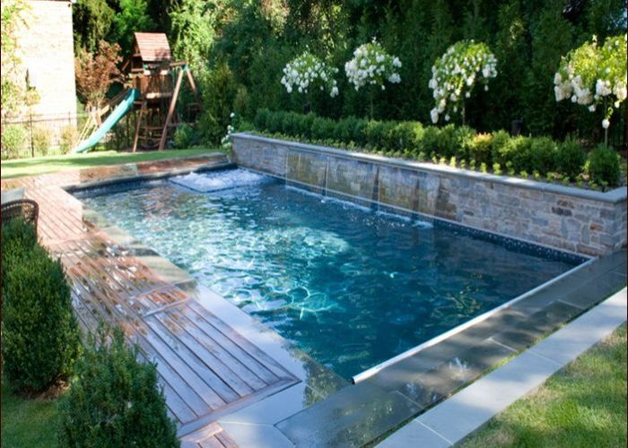Small inground pools for yards also garten pinterest