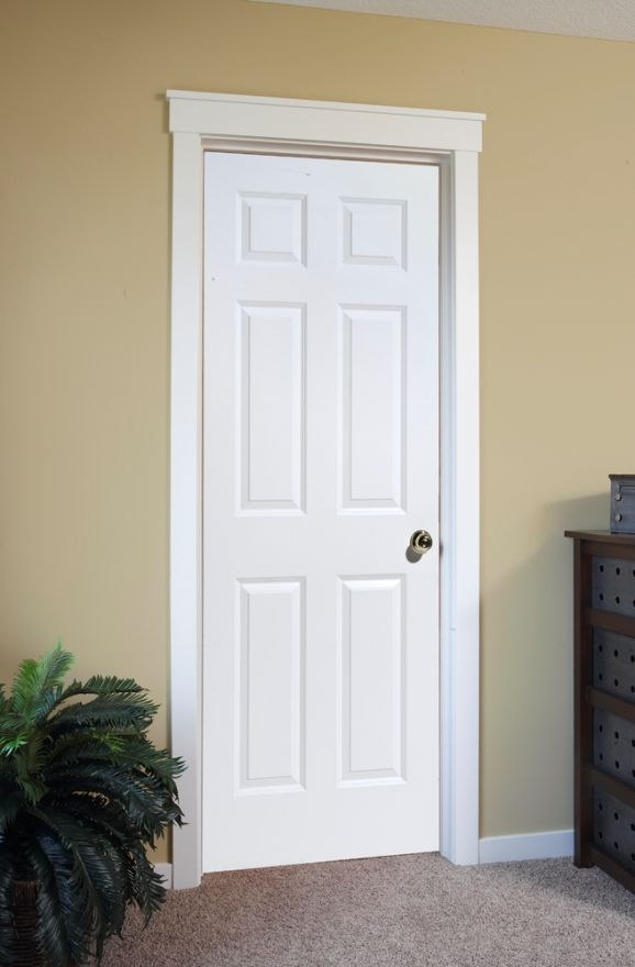 4 Panel White Interior Doors Interior Door In Raised 6