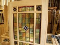 Antique Stained Glass Doors For Sale | Antique Furniture