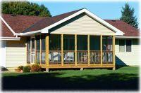 3 Season Porch Cost   Screen Porches Stamped Concrete ...
