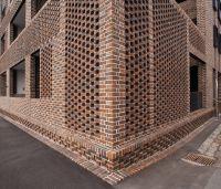 brick parapet perforated - Google Search | brick design ...