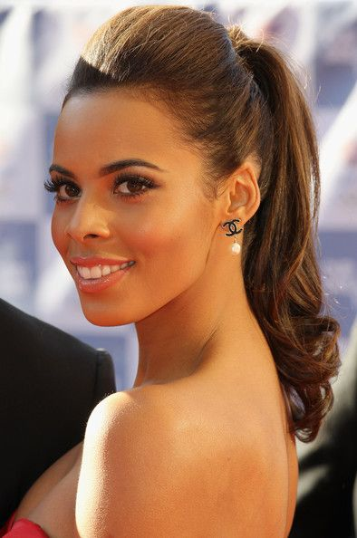 Cute Ponytail Hairstyles For Black Women Fit Pinterest Cute