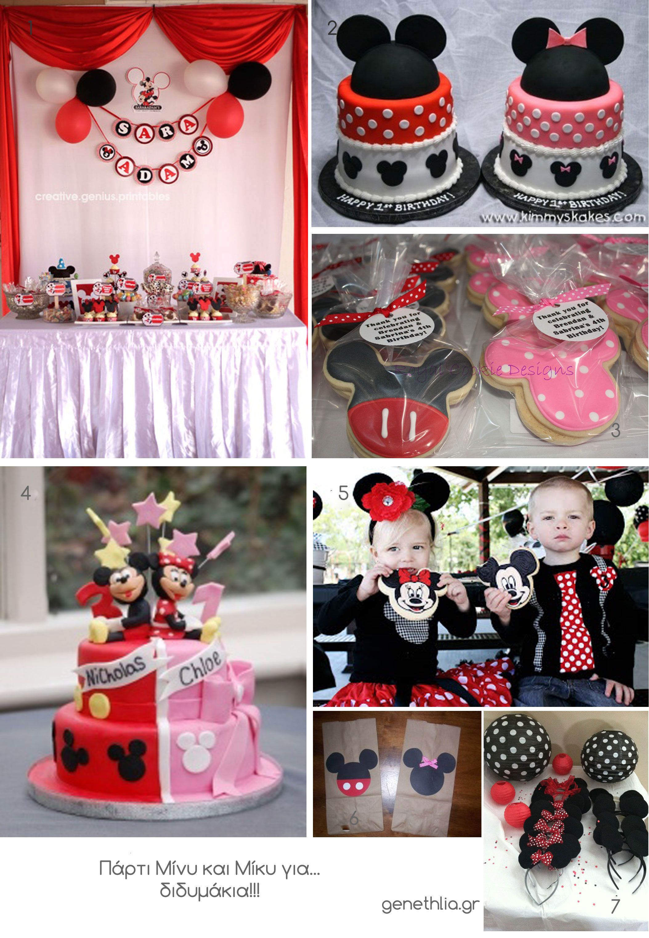 Minnie And Mickey Party