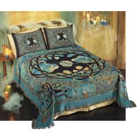 Pyramid Collection Eternity Tree Celtic Bedspread / Bed ...