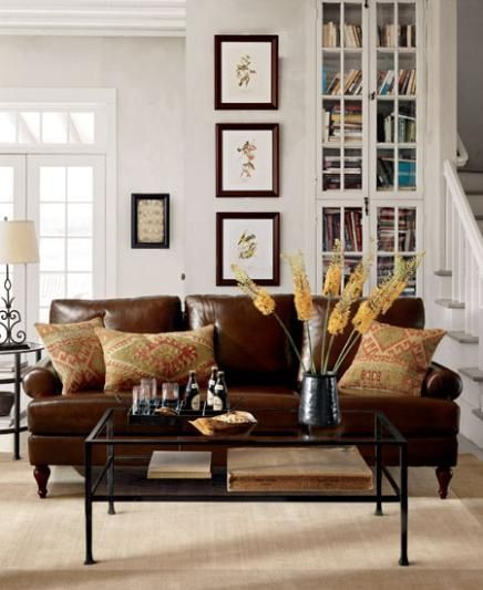 Living Room Ideas Brown Leather Couches   Conceptstructuresllc.com