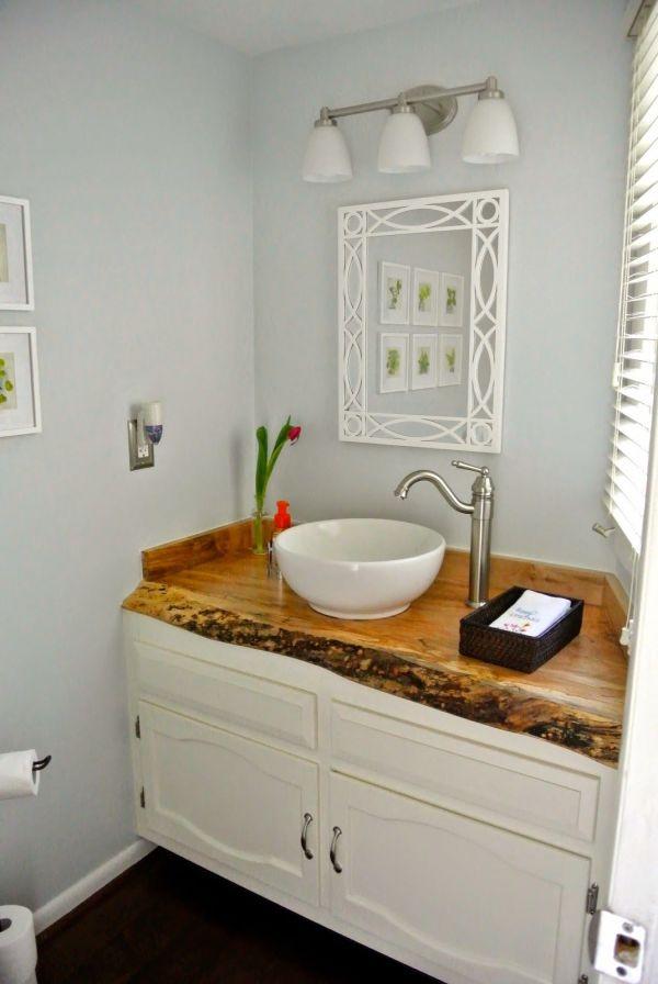 Live Edge Bathroom Vanity T