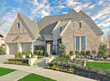 Stone Front Home Elevations