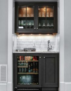 stylish small home bar ideas also wet bars spaces and rh pinterest