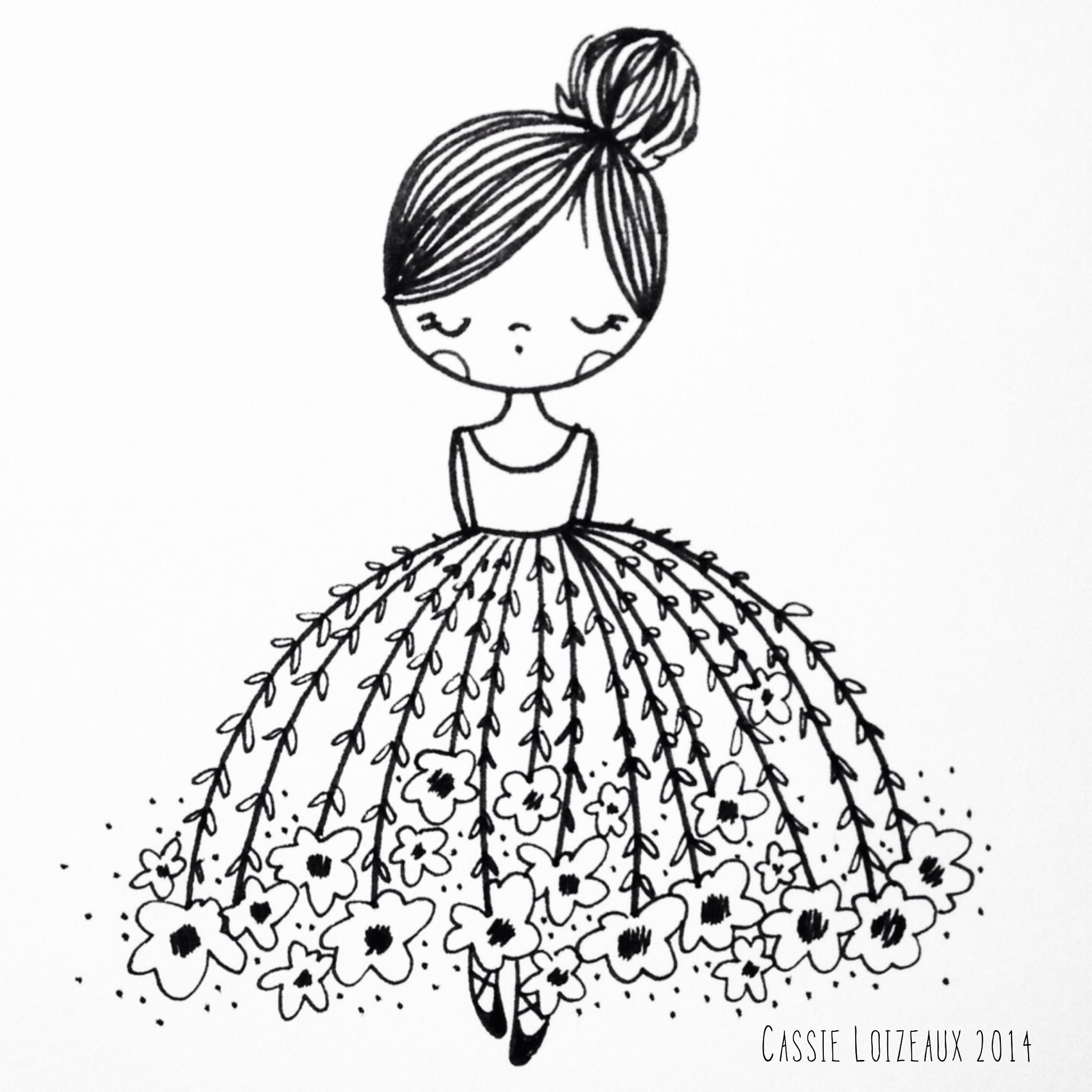 Flower Dress Dreamer Day 59 Of Yearlong 30 Minute A Day