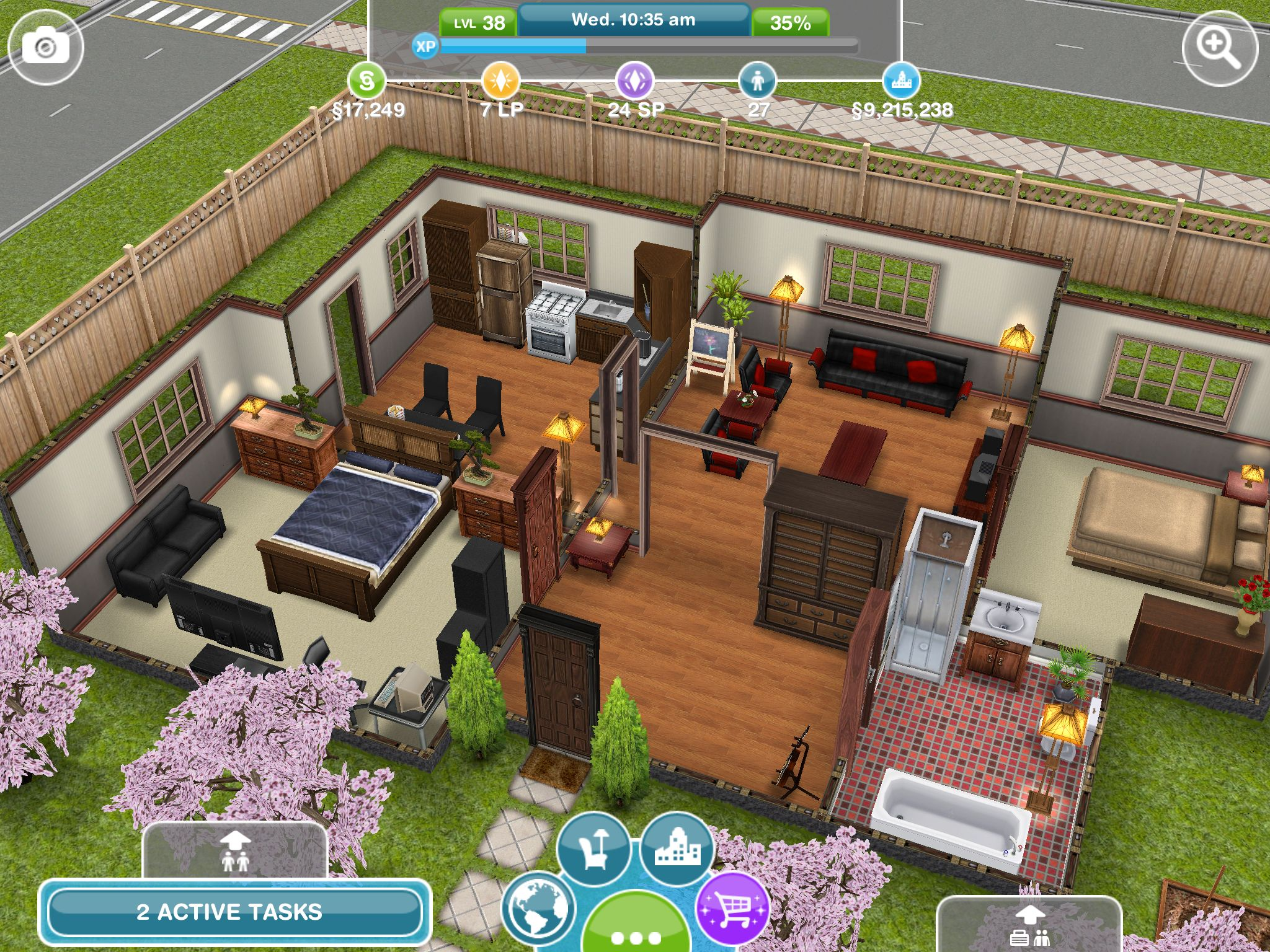 Sim Simple House #sims #simsfreeplay #house Sim House