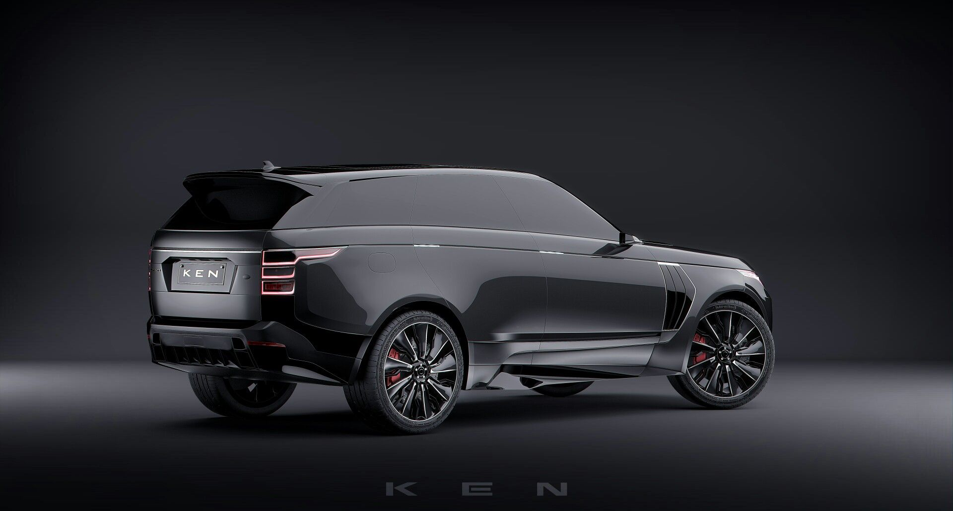 Pin by Ken Davie on My Very Own Concept of a Range Rover