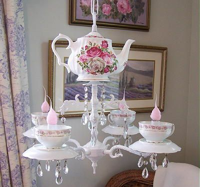 Teapot Chandelier I Wasn T Considering A In The Guest Room But