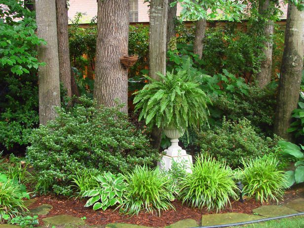 Designing A Garden With Foliage Gardens Pedestal And Planters