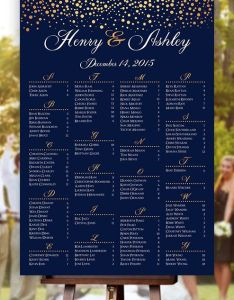 also table charts for wedding rh masinky