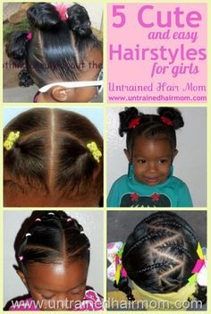 5 Cute Easy And Creative Natural Hairstyles For Girls Jaylee
