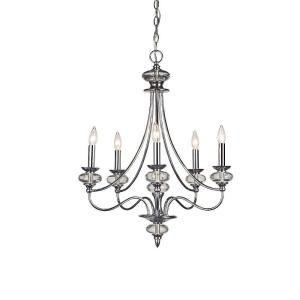 Home Decorators Collection Nottinghill 5 Light Chrome Chandelier