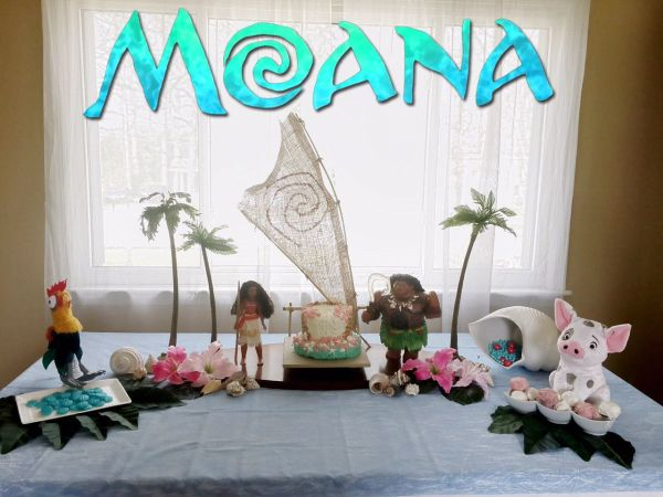 Moana Birthday Party Decoration DIY