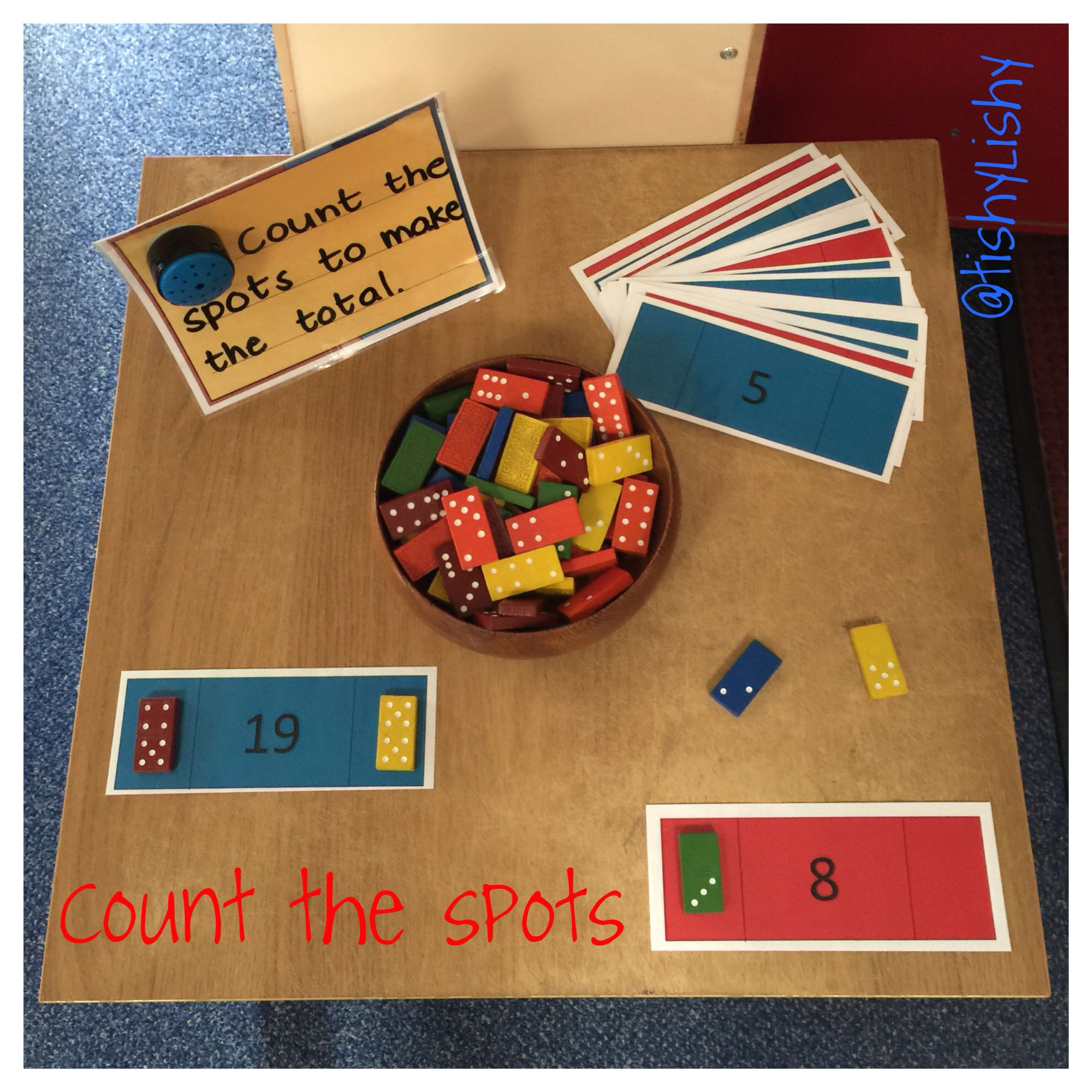 Maths Challenge Task Count The Spots To Make The Total