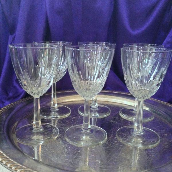 Luminarc Diamant Wine Glasses Set Of Six Cristal 'arques