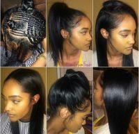 Versatile sew-in braid pattern | ***) Hair Styles ...