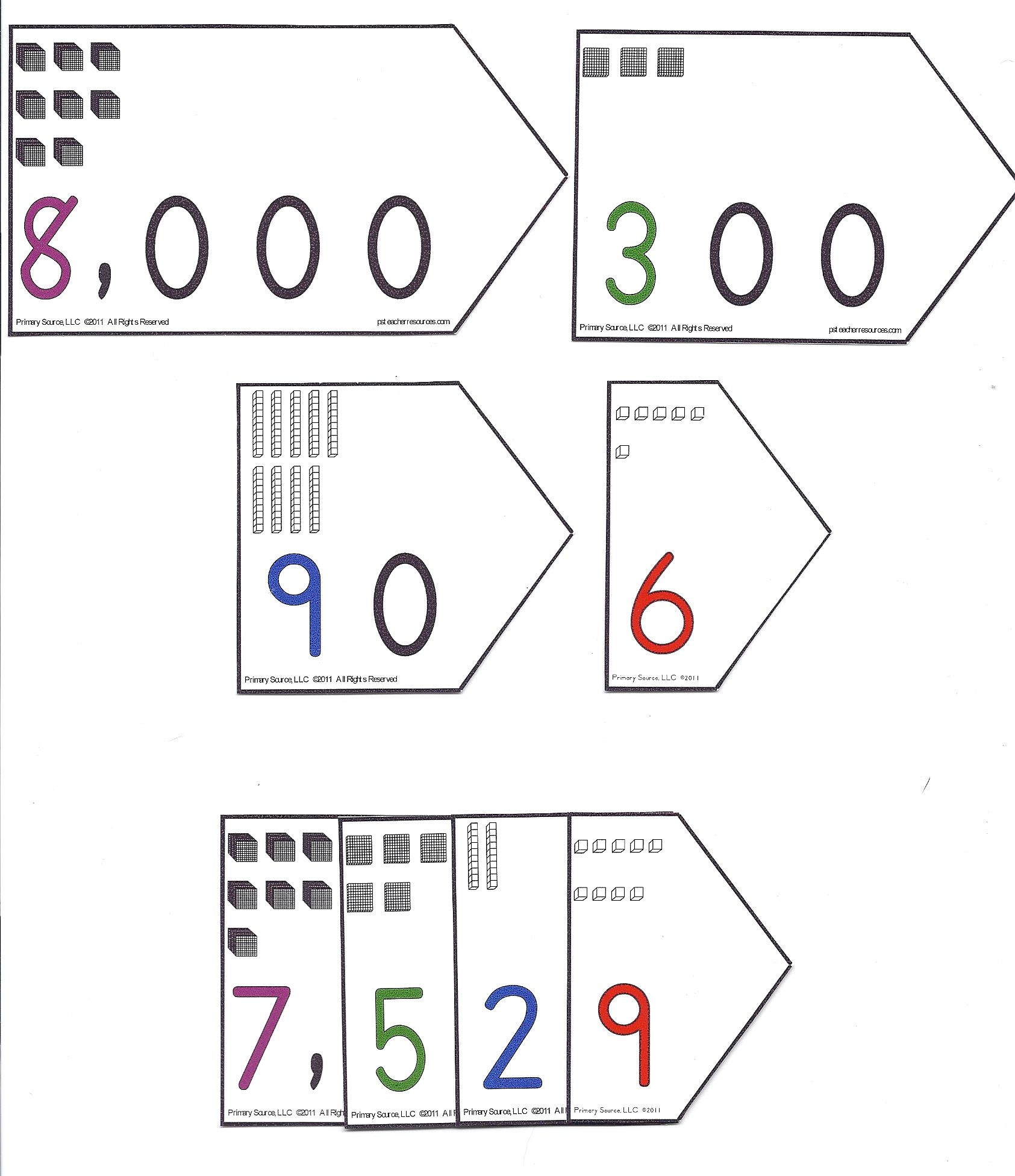 Place Value Each Place Has A Value Of 10 Times The Place