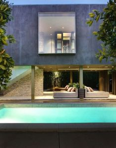 Pool luxury house secluded home with open design also sporting an architecture rh pinterest