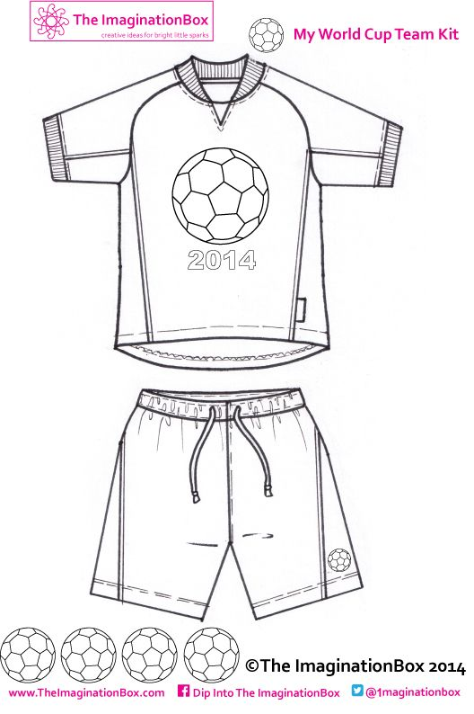 Design your own World Cup 2014 Team Strip, free to