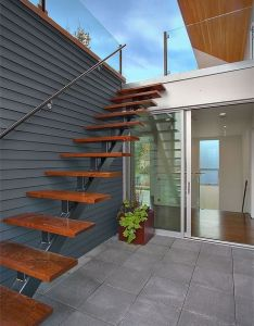 Exterior stairs designs stair accessing roof terrace modern staircase property also ideas of how to explore the rooftop its maximum potential rh za pinterest