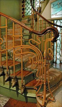 Art Nouveau Stairs Castel Ranger Paris 1898
