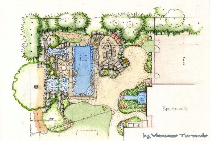 Amazing Ideas Landscape Architecture Tree Sketches