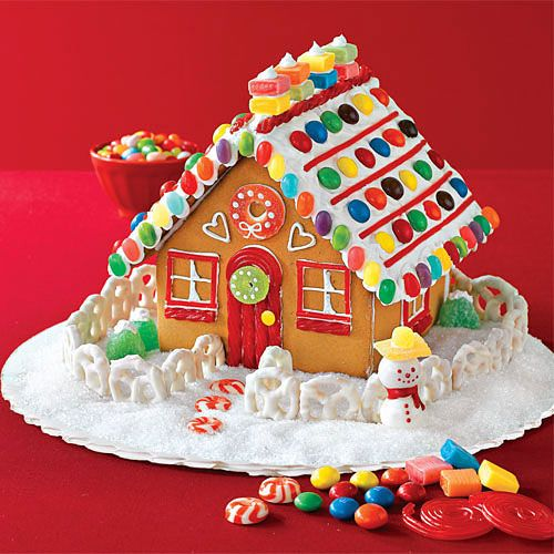 Build A Gingerbread House Smallest House Gingerbread And Weight
