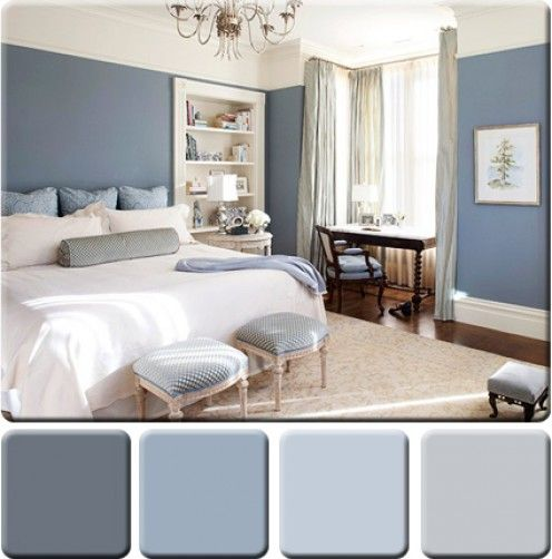 2014 Blue Color Palettes For Decorating Monochromatic Color