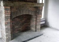 brick around free standing cast iron fireplaces | Brick ...