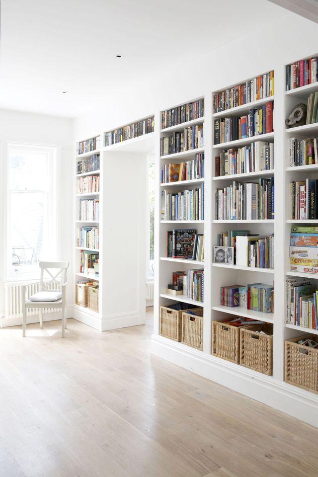 Librerias Blancas Librera Blanca Bajo La Ventana Con