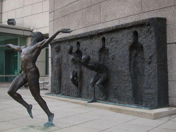 Sculpture by Zenos Frudakis Freedom