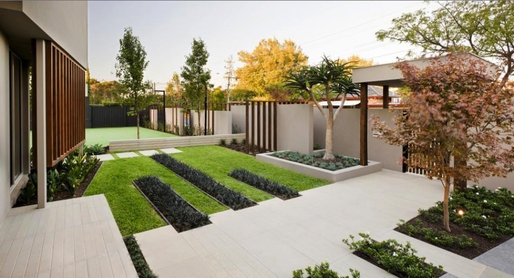 Front Garden Modern Design The Gardening